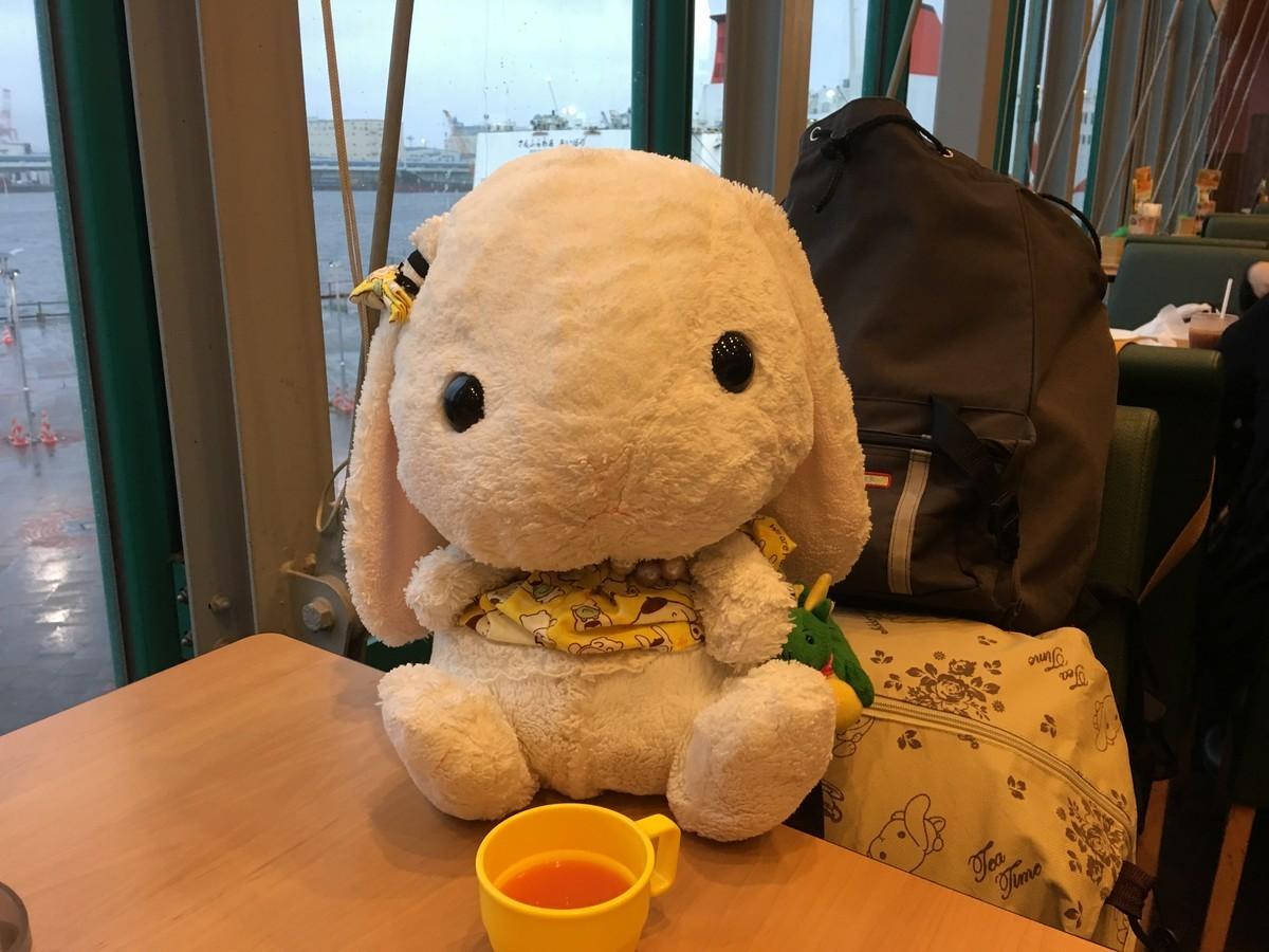大阪港のガストで出航まで腹ごしらえ