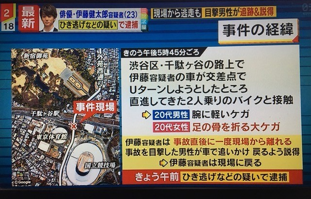 伊藤健太郎さん事故現場詳細