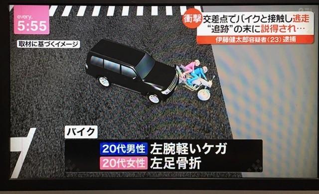 伊藤健太郎さん事故の状況