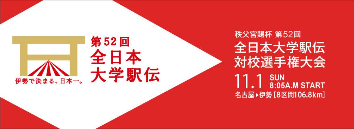 第52回全日本大学駅伝対校選手権 選手補欠メンバー