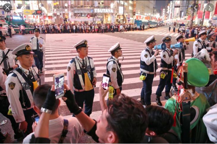 渋谷 警察官