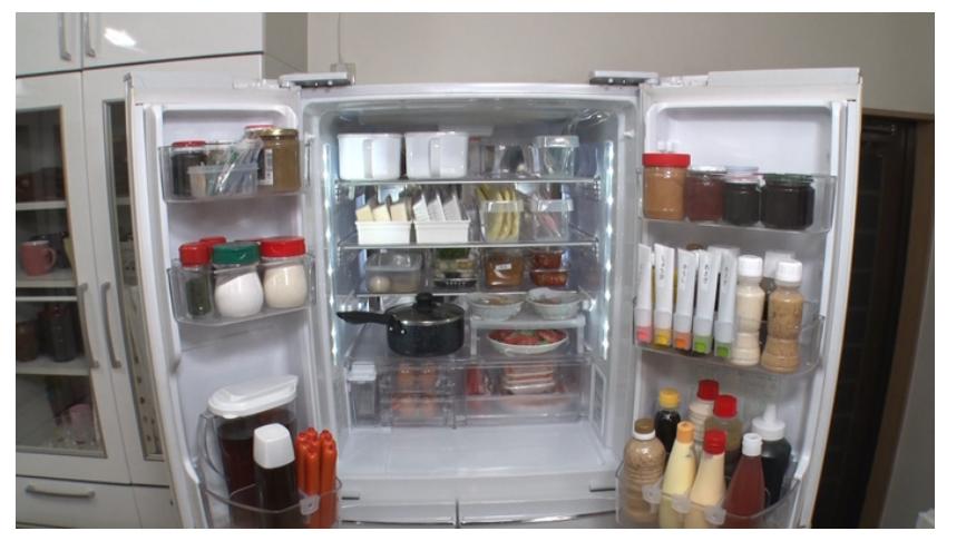 スマート冷蔵庫収納