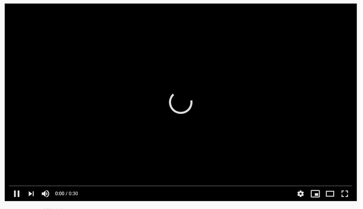 YouTube障害発生!動画再生できません。