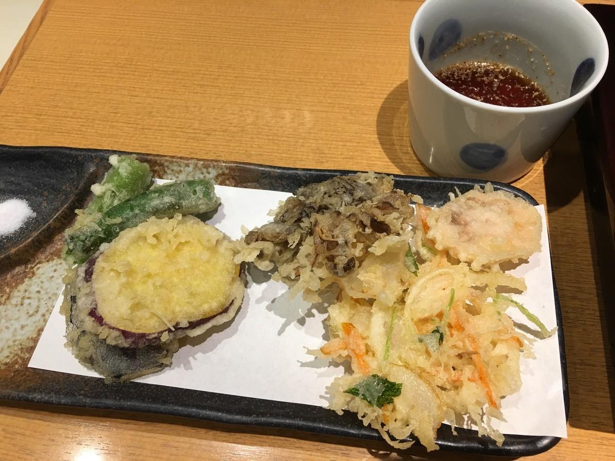 野菜天へぎ 1500円
