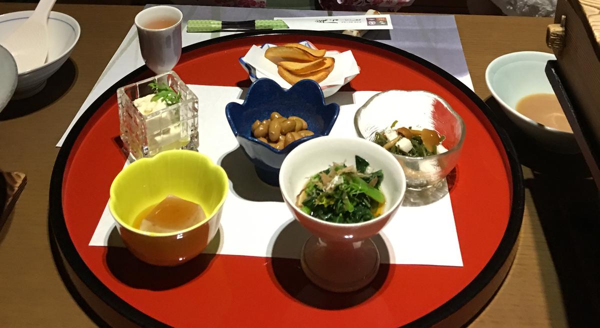新潟の宿 湯田上温泉 ホテル小柳 ヘルシーベジタリアン懐石