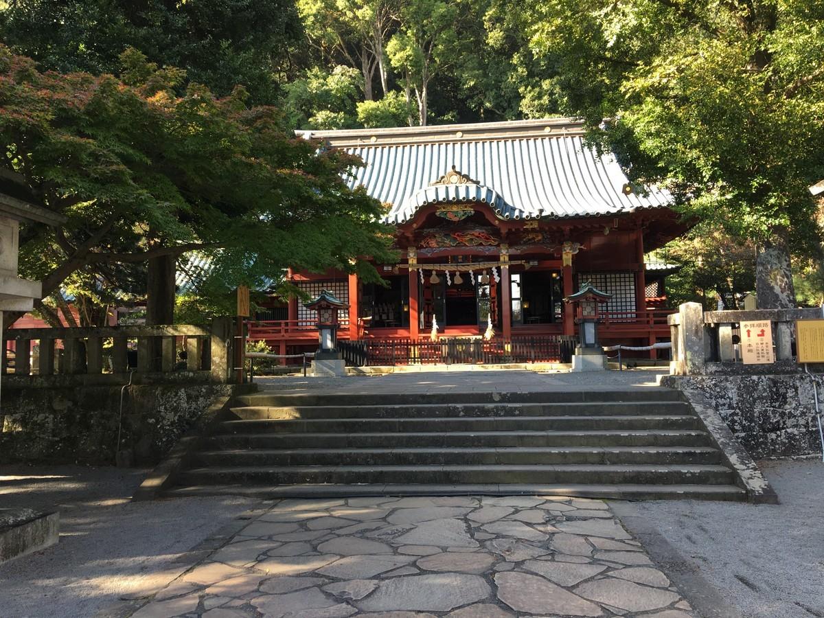 熱海伊豆山神社 神殿