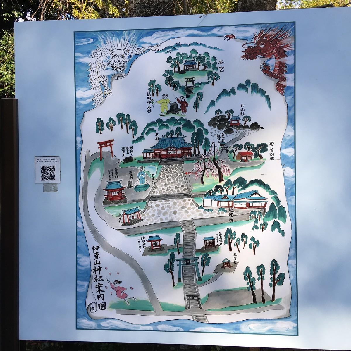 伊豆山神社地図
