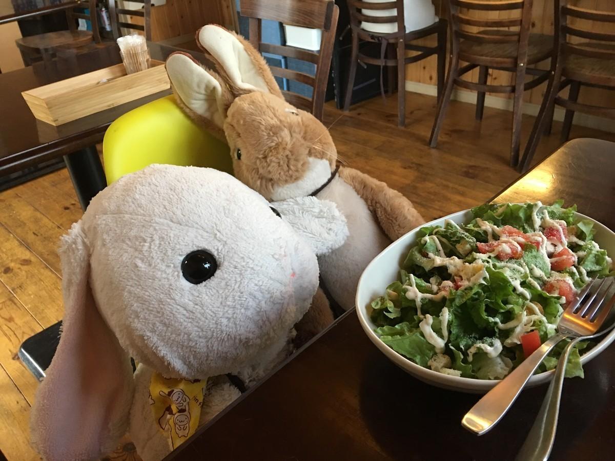 大盛サラダ