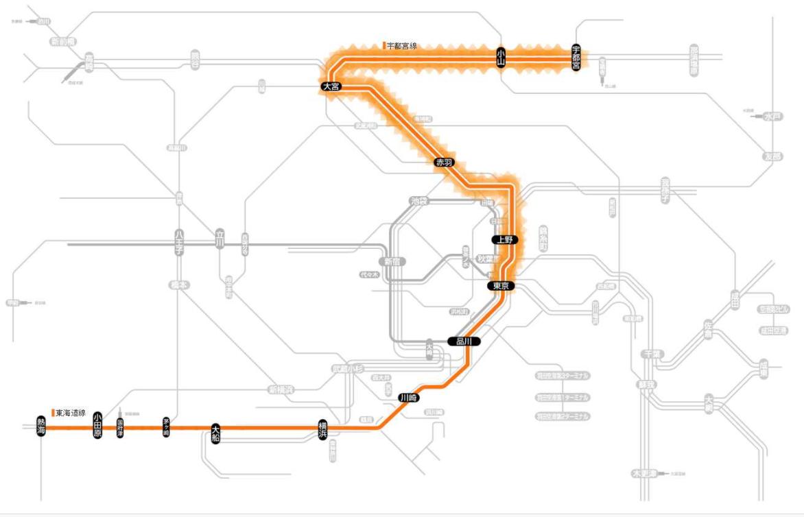 宇都宮線 運転再開 14時41分頃 遅延情報 東京~上野駅間での上下線で運休