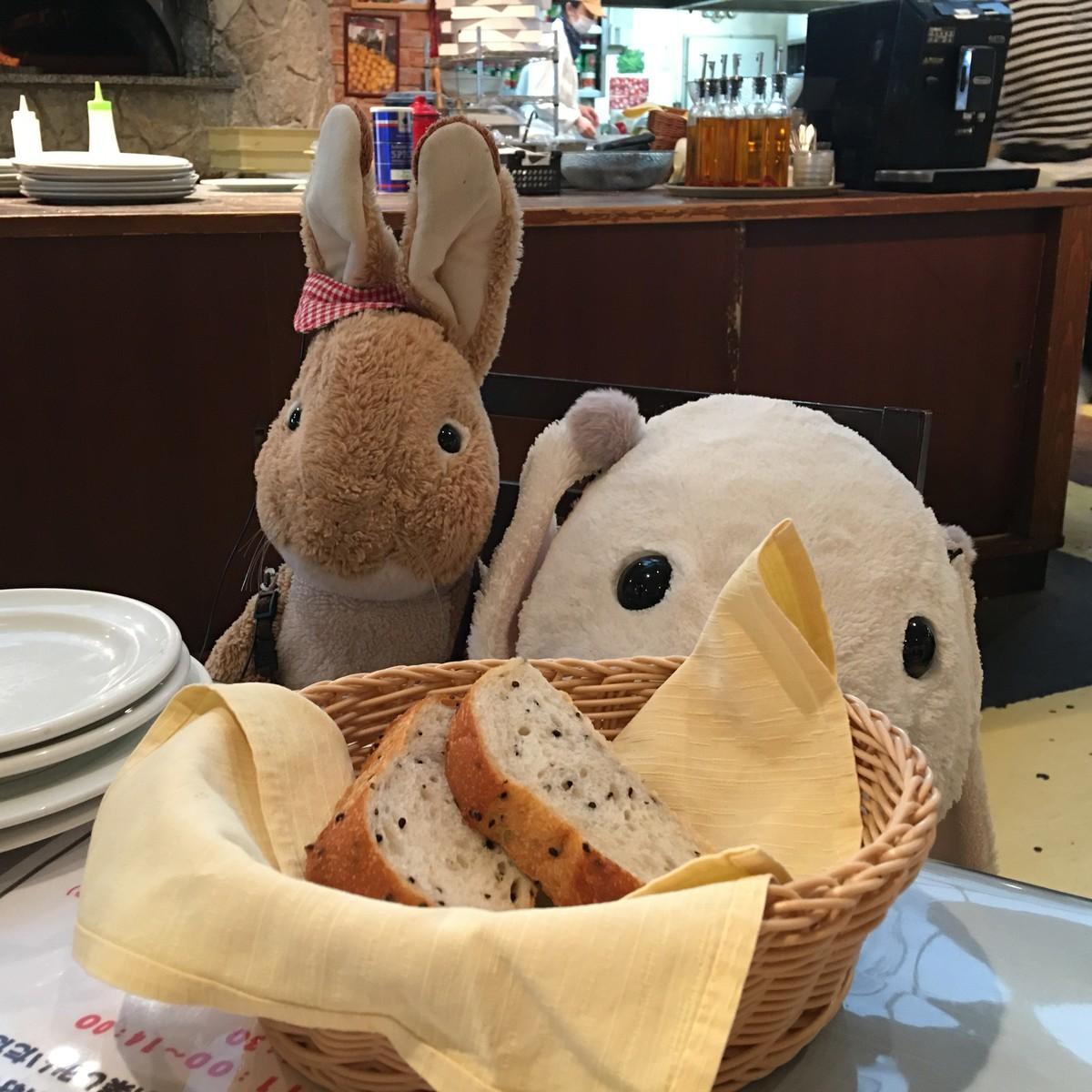 ふかふかのパン
