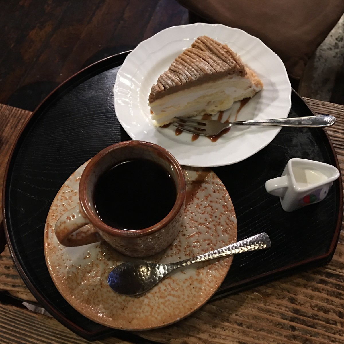 砂時計さんケーキセット