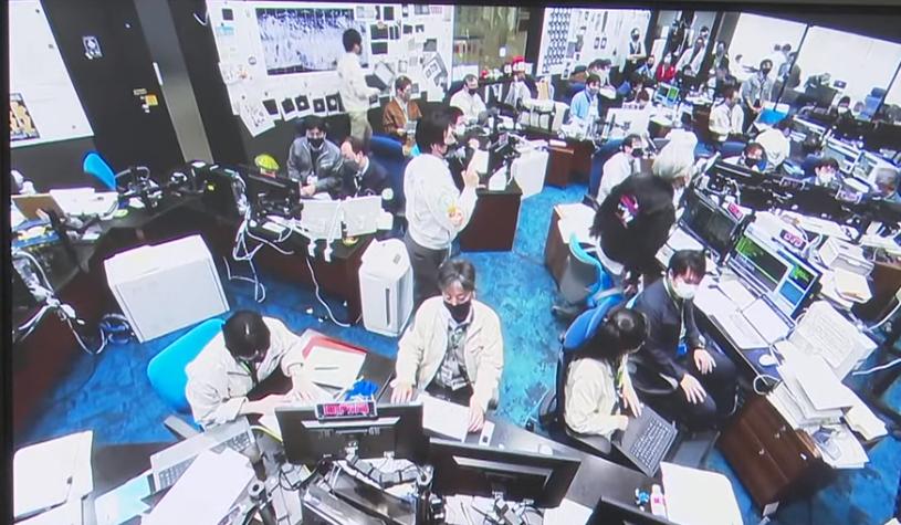 宇宙航空研究開発機構(JAXA)の様子