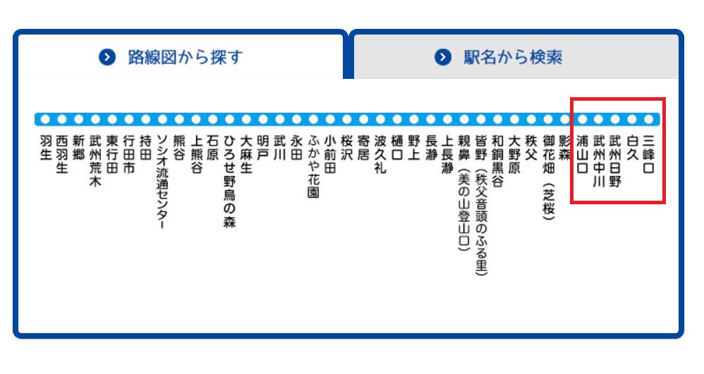 秩父鉄道運転見合わせ!影森~三峰口駅間!浦山口駅で発生した車両故障