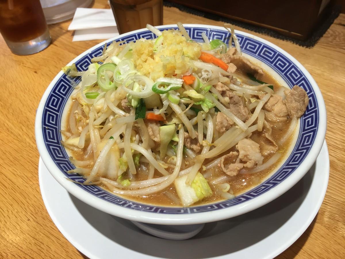 小田原タンメン!野菜たっぷり濃厚味噌!