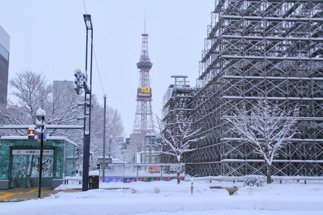 さっぽろ雪まつり中止!バーチャル雪まつり!オンライン開催へ