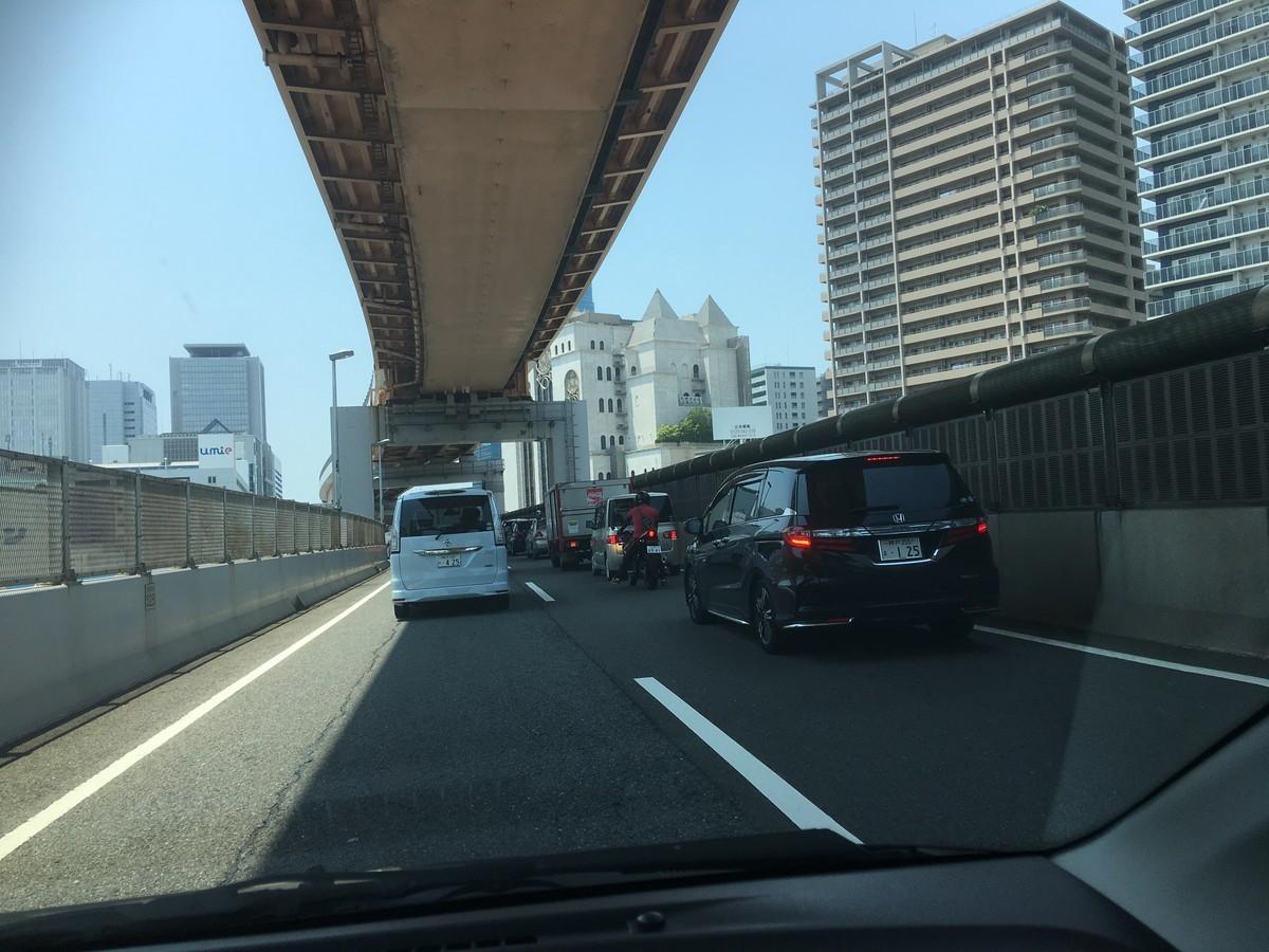 神戸の高速みたいな道路