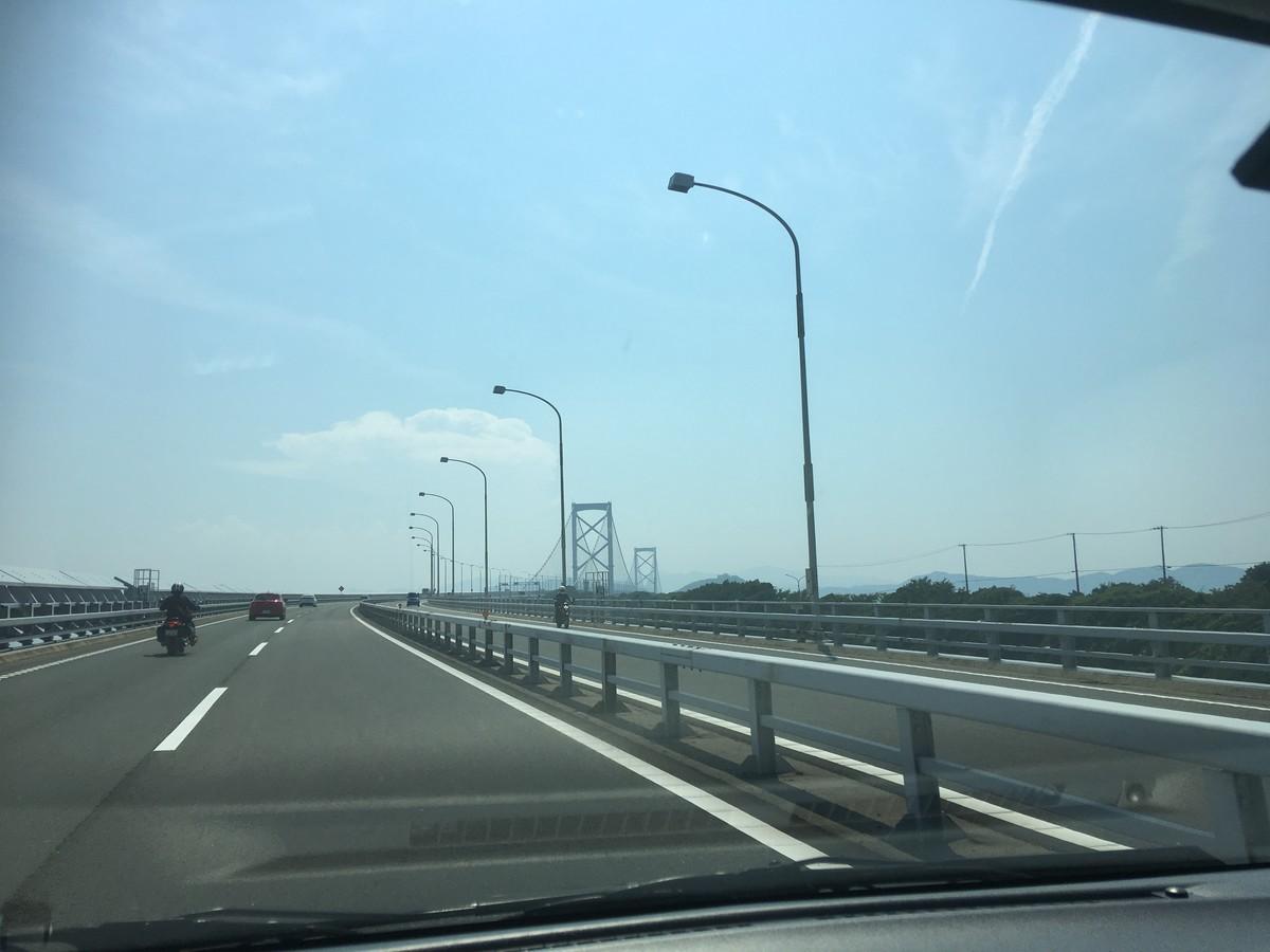 鳴門海峡を横断