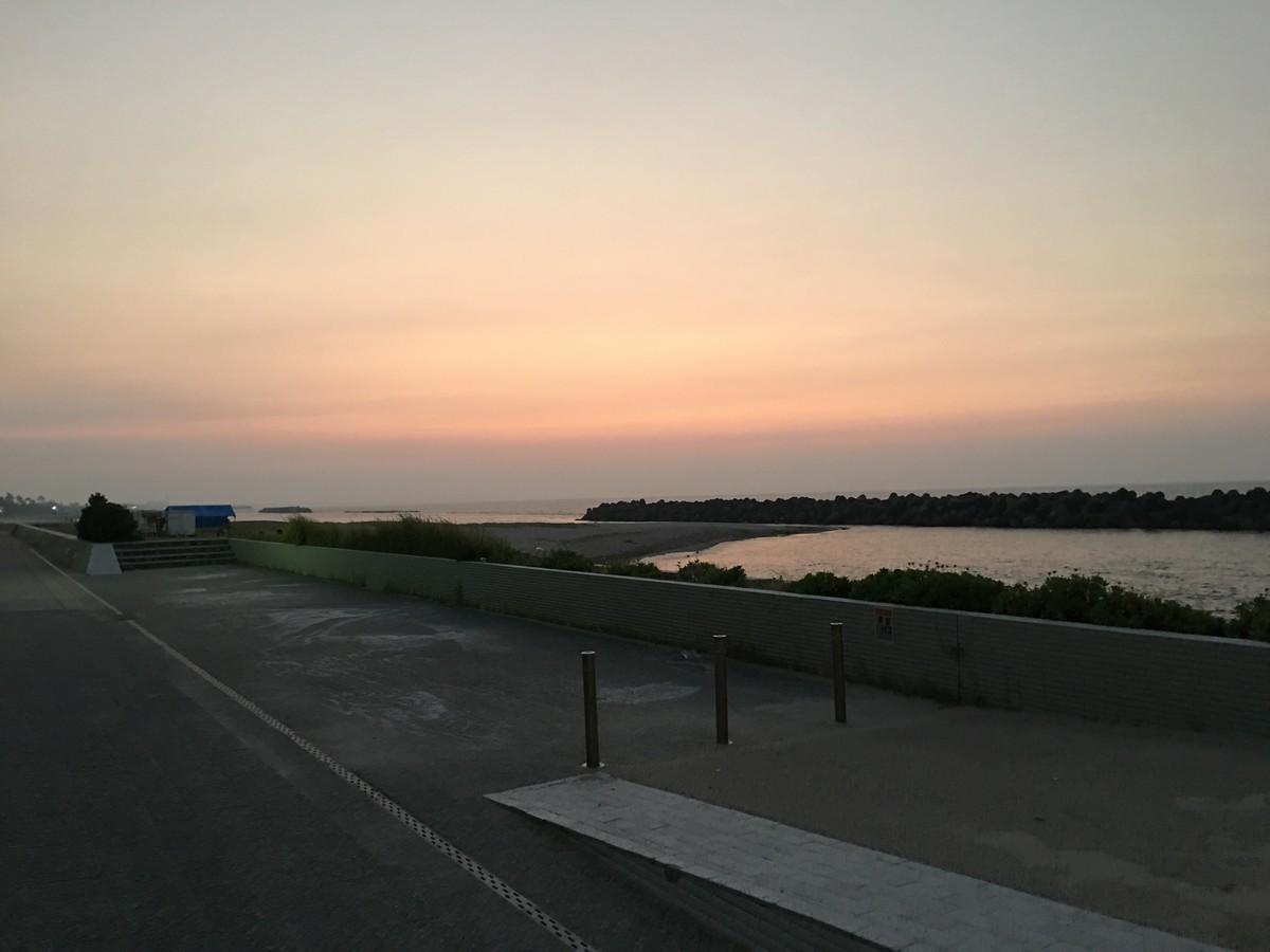 皆生シーサイドホテル海の四季 夕日