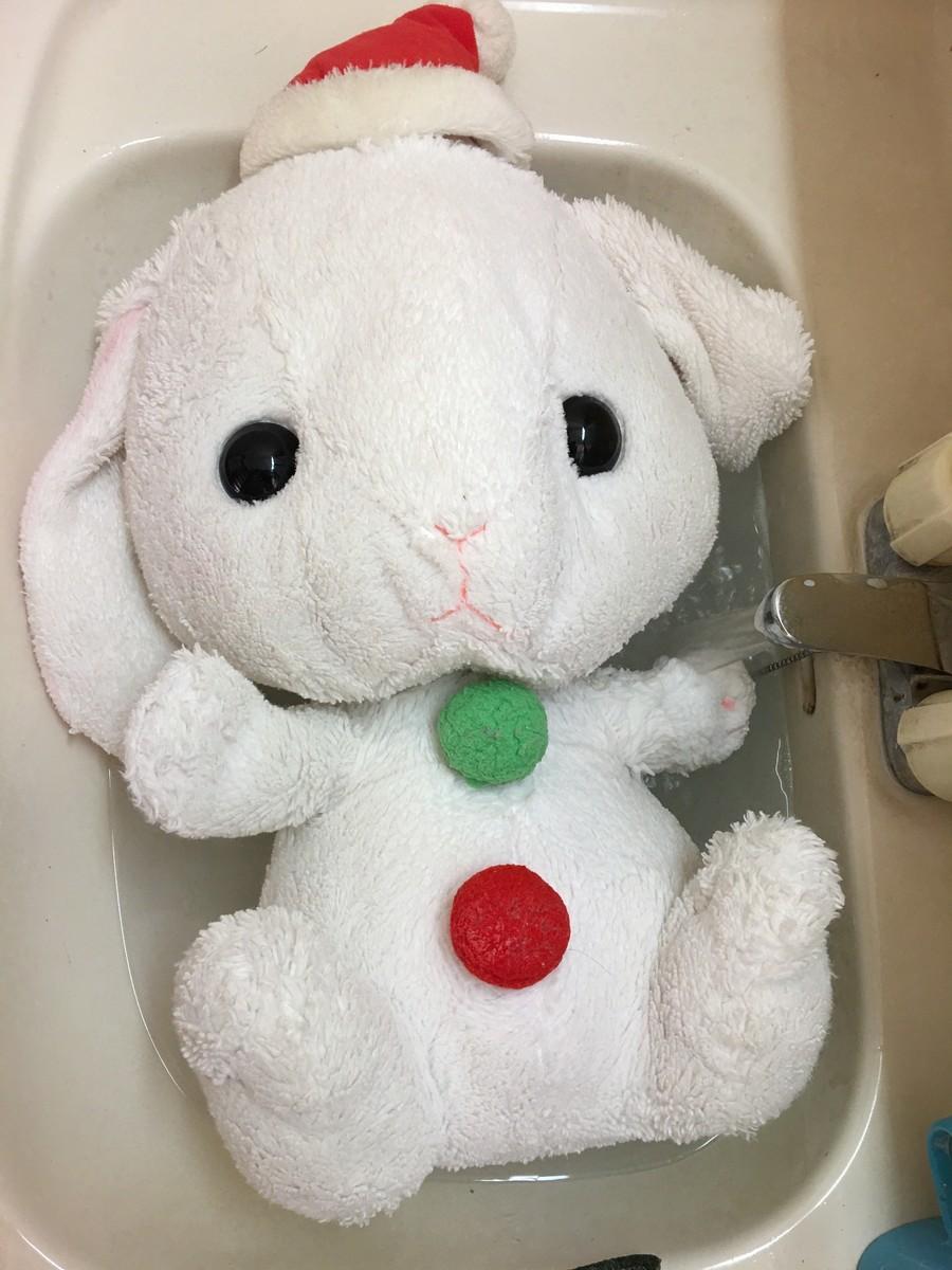 サンティちゃんお洗濯