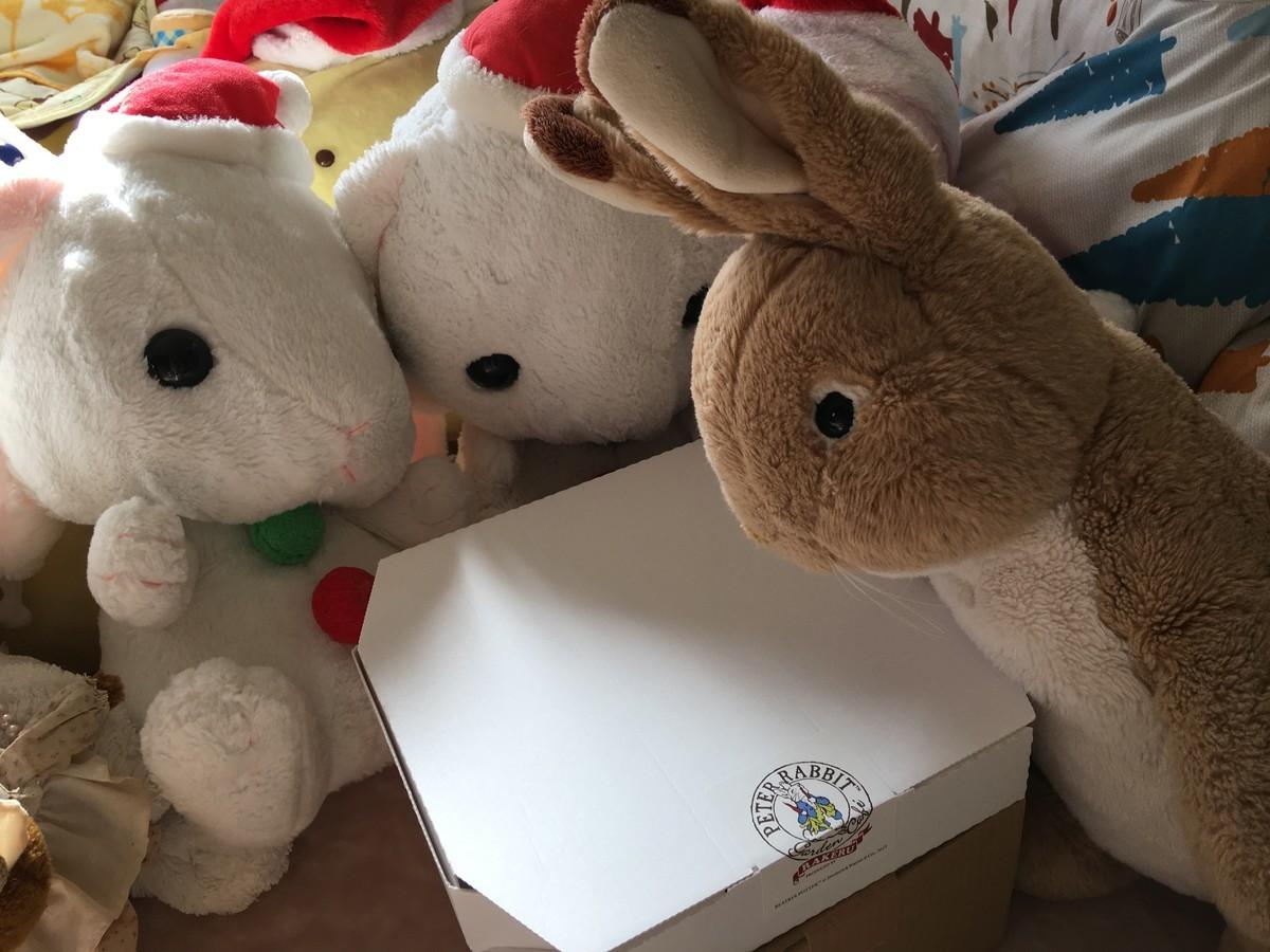 僕が1番に箱を開けるんだ!