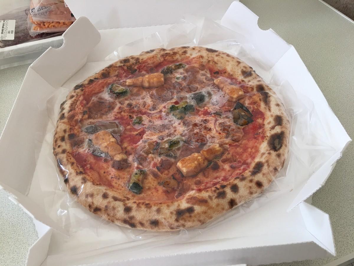 マクレガーさんの畑のピザ
