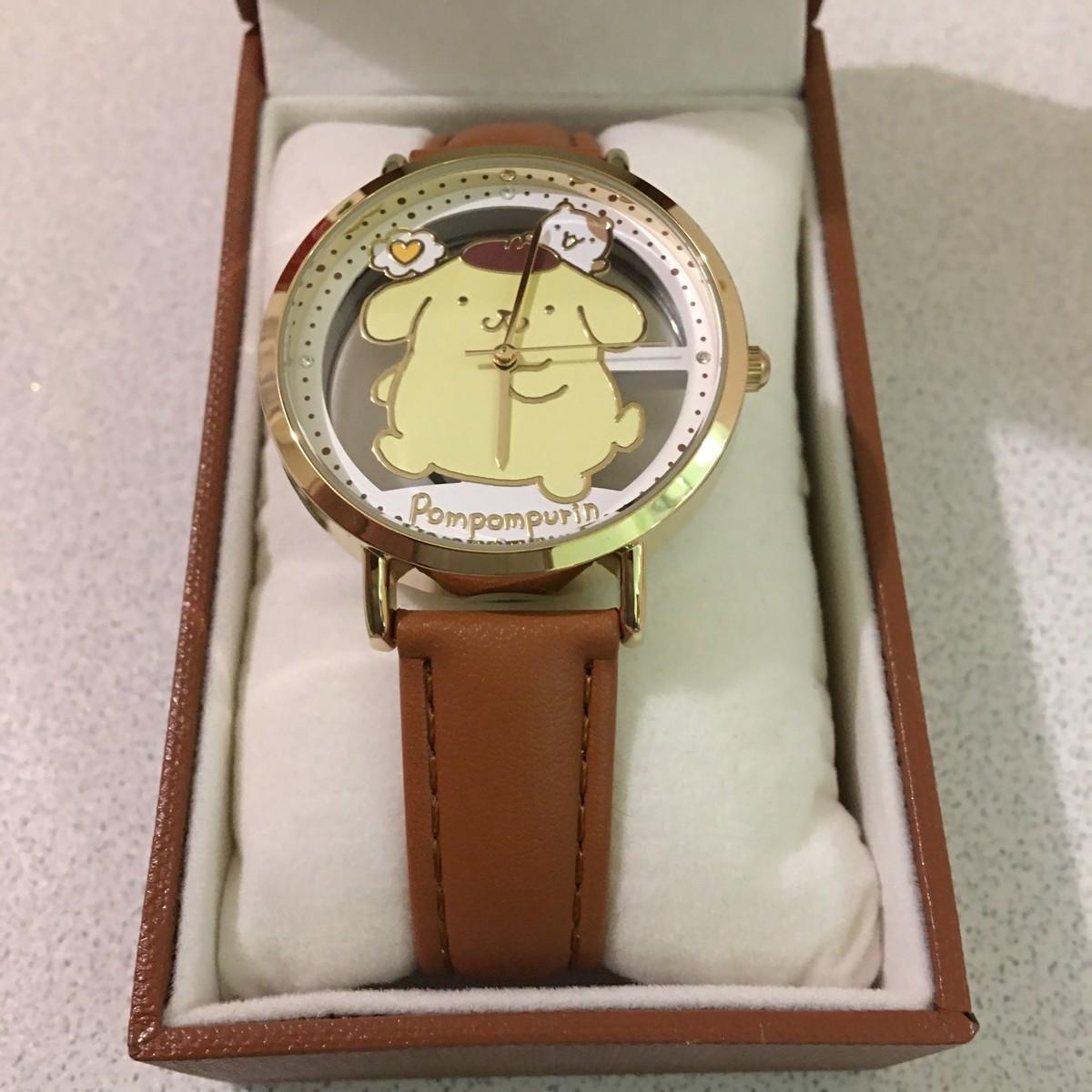 ポムポムプリン 腕時計
