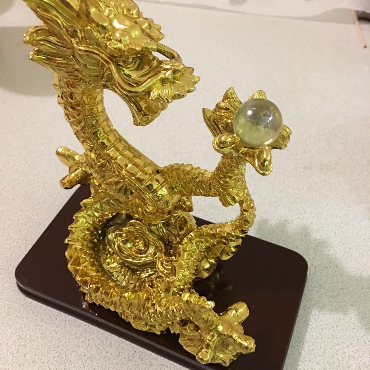 金の龍を買いました