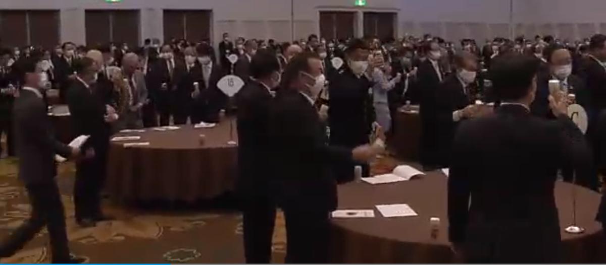 宮崎市賀詞交歓会400人飲酒を伴う会食で批判殺到!会場の様子NHK動画 撮影