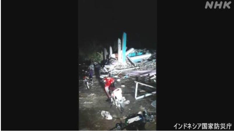 インドネシアスラウェシ島で M6.2の地震 !8人死亡、637人がけが!1万5000人が避難