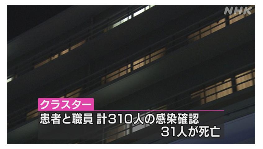 埼玉県戸田中央総合病院!職員患者310名大規模なクラスター!31人が死亡