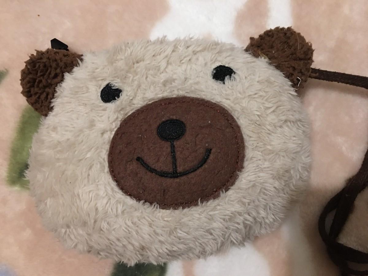 お熊さんのポシェット