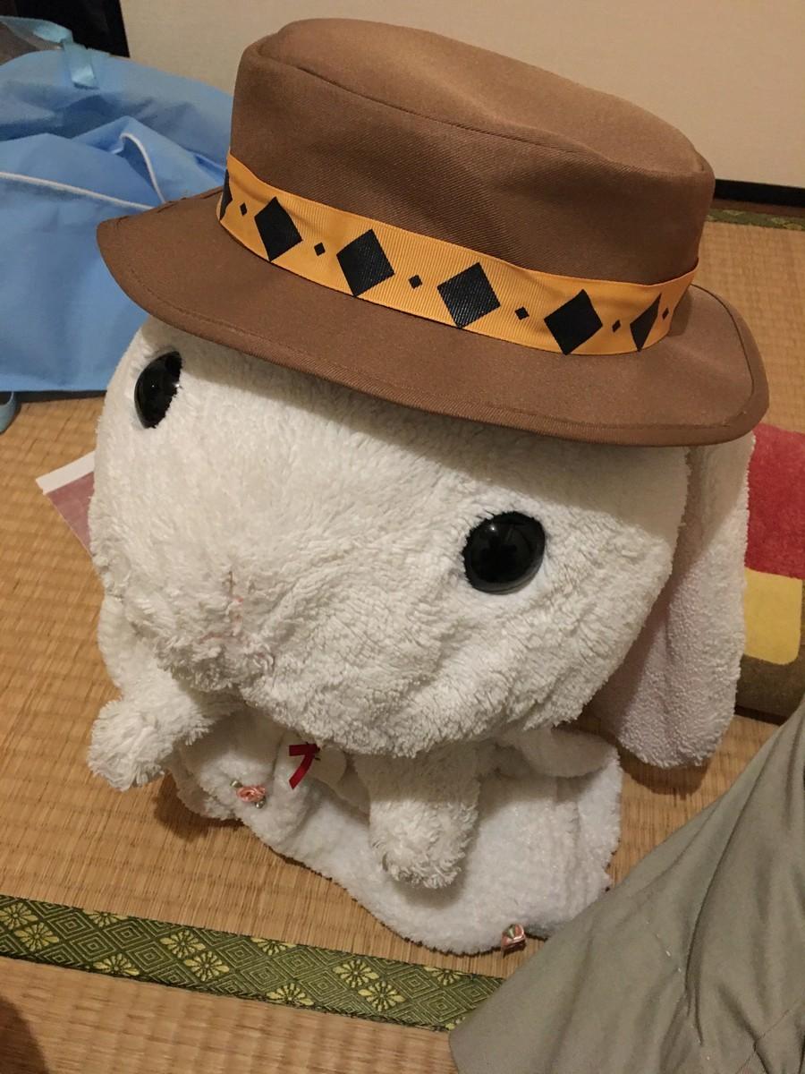 おでかけにかぶる帽子