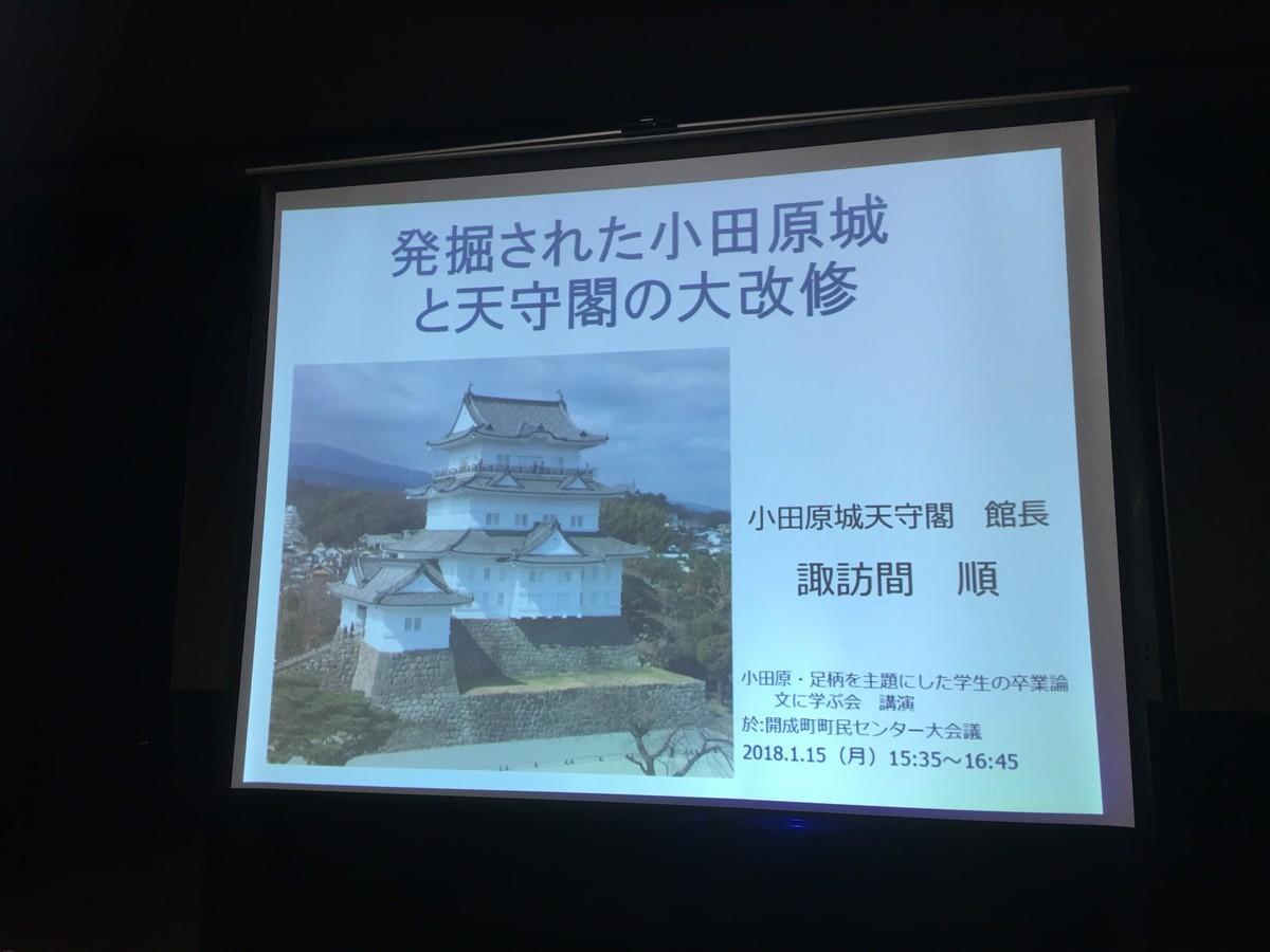 第13回小田原足柄を主題とした学生の卒業論文に学ぶ会発表!