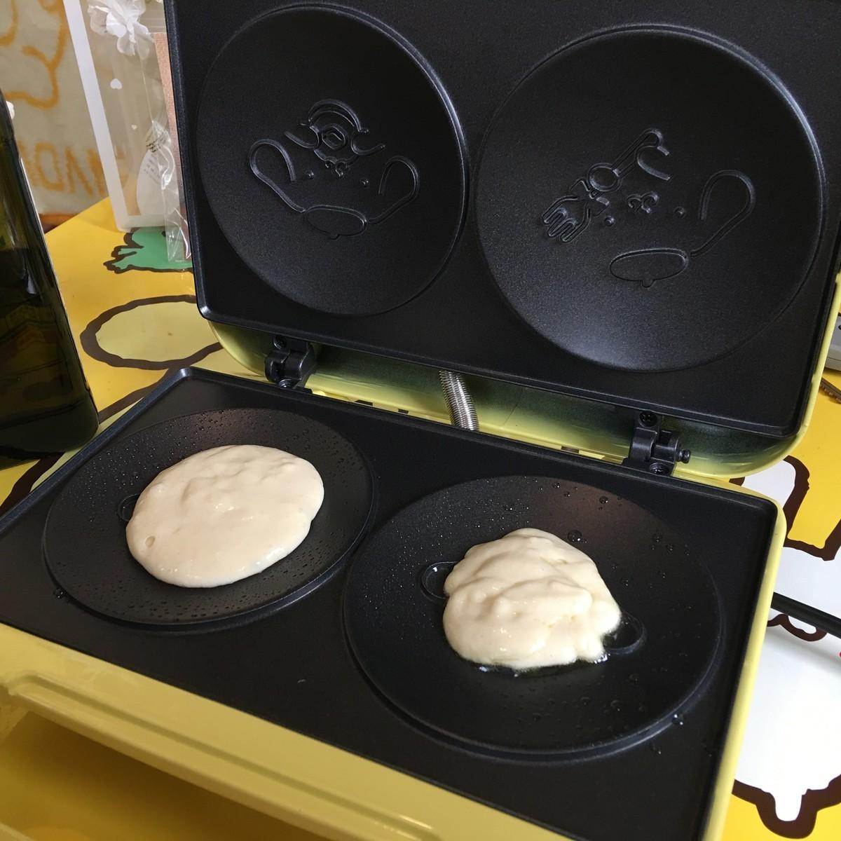 パンケーキメーカーの作り方
