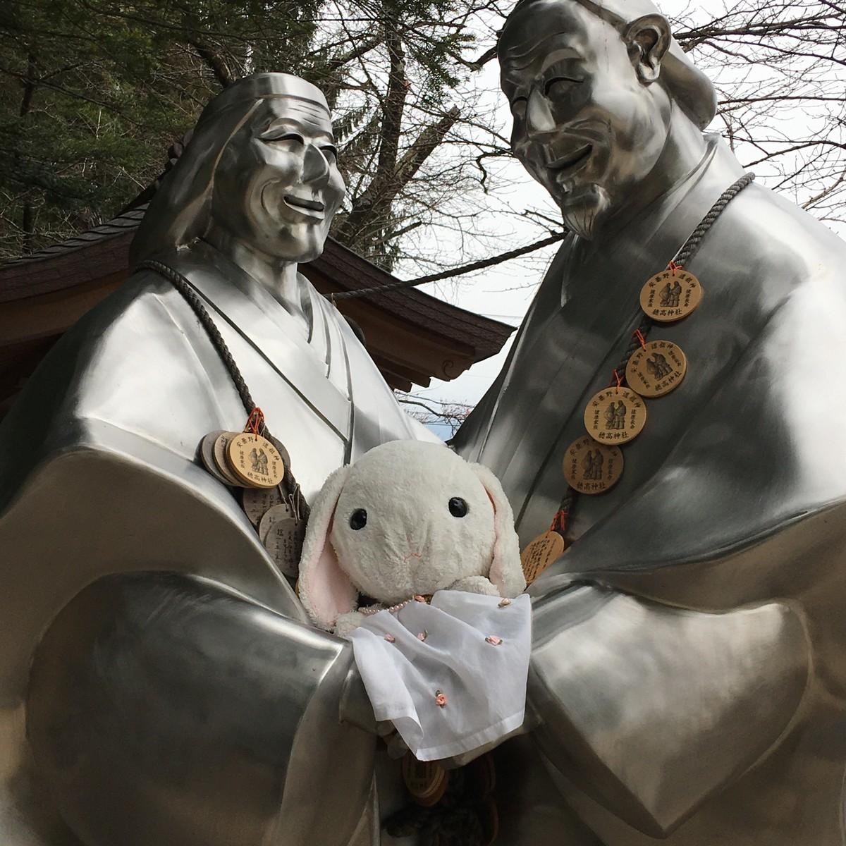 穂高神社参拝