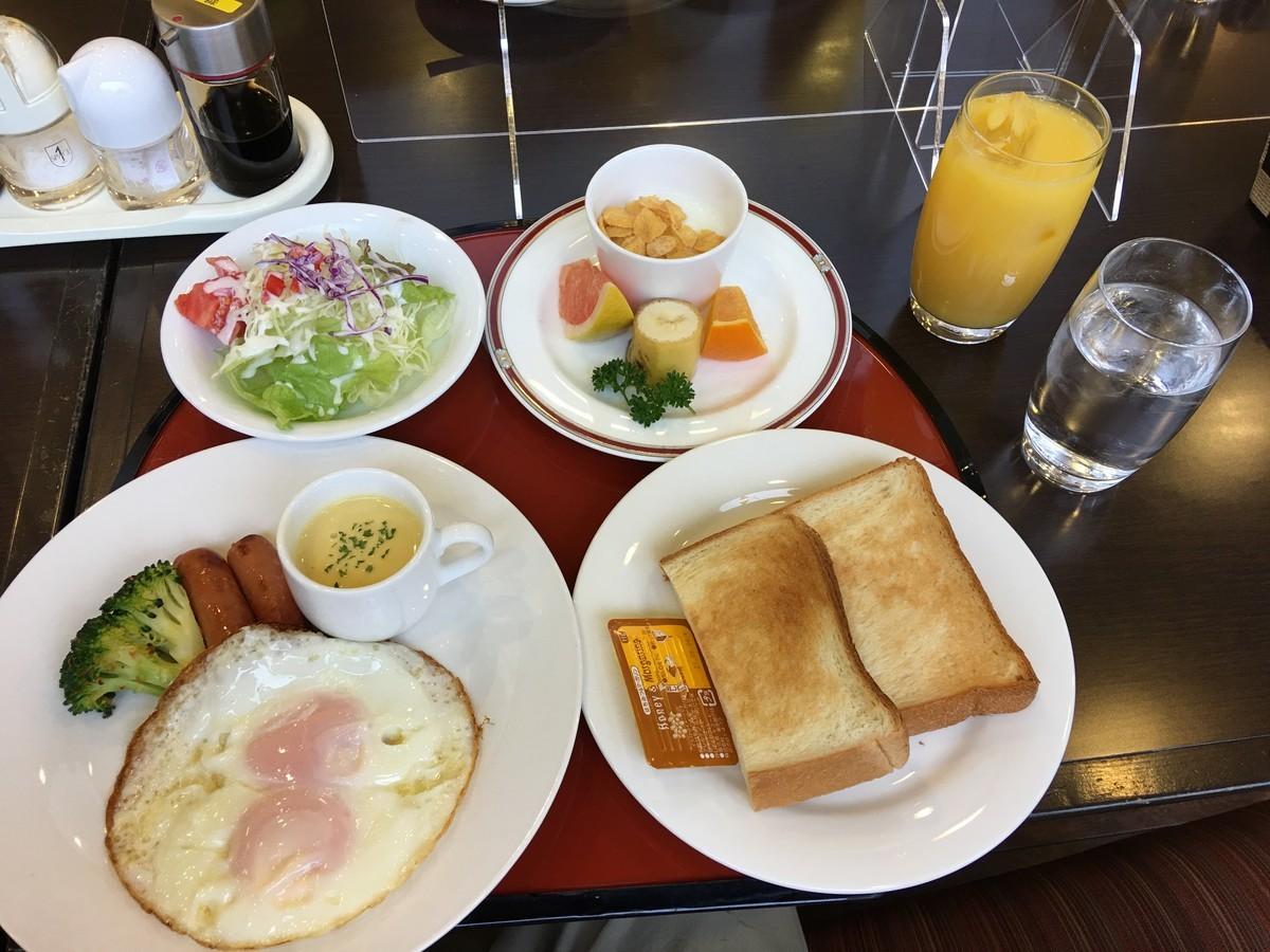 ハミルトンホテル上総朝食 洋食