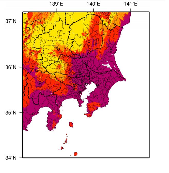 首都圏の巨大地震発生確率