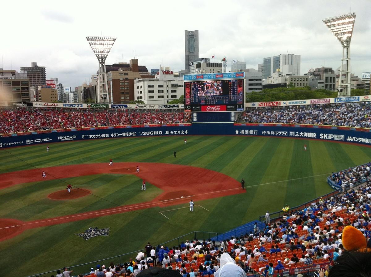 横浜スタジアムの試合