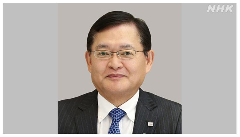 東芝 車谷暢昭社長の辞任を発表 後任に前社長の綱川会長