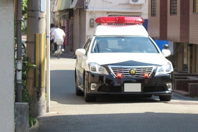 岩手県北上市聖火リレーでコカ・コーラのスポンサーがパトカーで撮影!