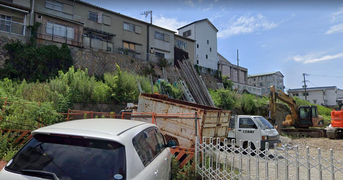 ライブ映像動画!大阪市西成区崖の上の住宅1棟のり面の下に倒壊!場所はどこ?