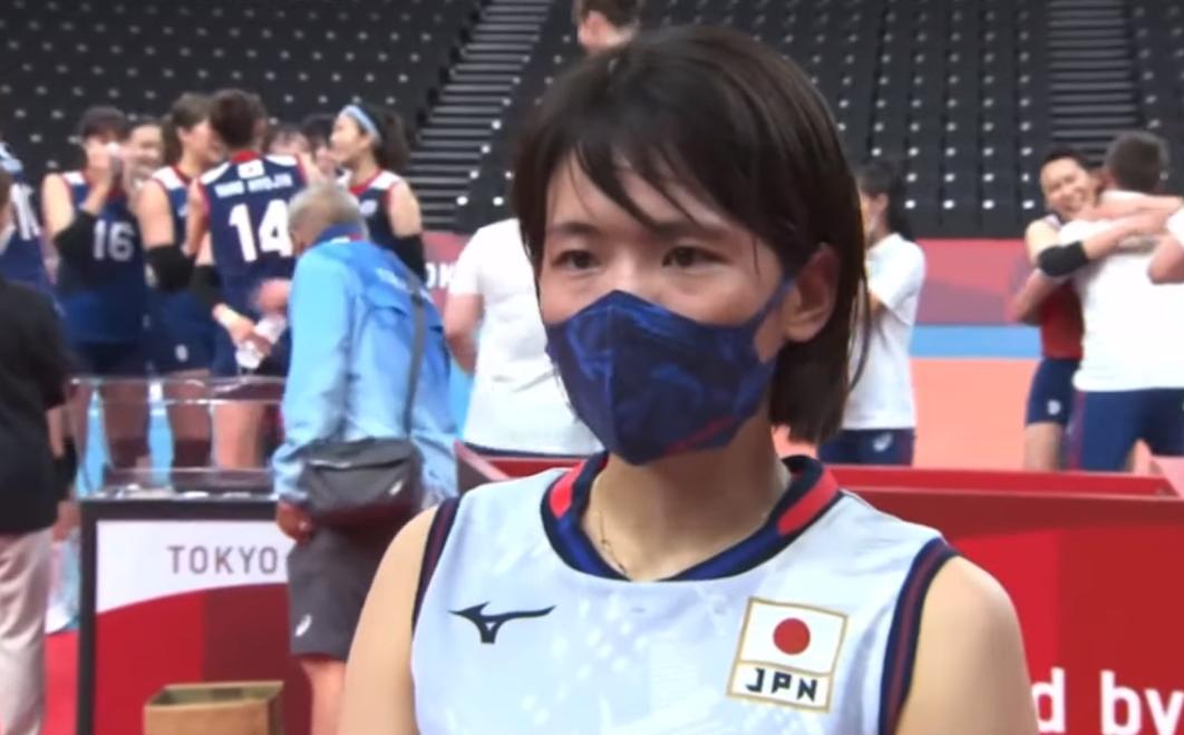 動画映像!日本バレーボール女子古賀紗理那さん試合後インタビュー