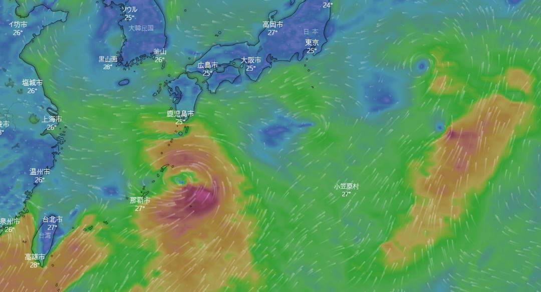 台風9号発生!予想進路と日本への台風の影響はいつ?