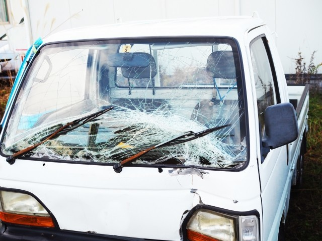 山形市大森の住宅軽トラック盗難、「笹谷峠」で車乗り捨て逃走中