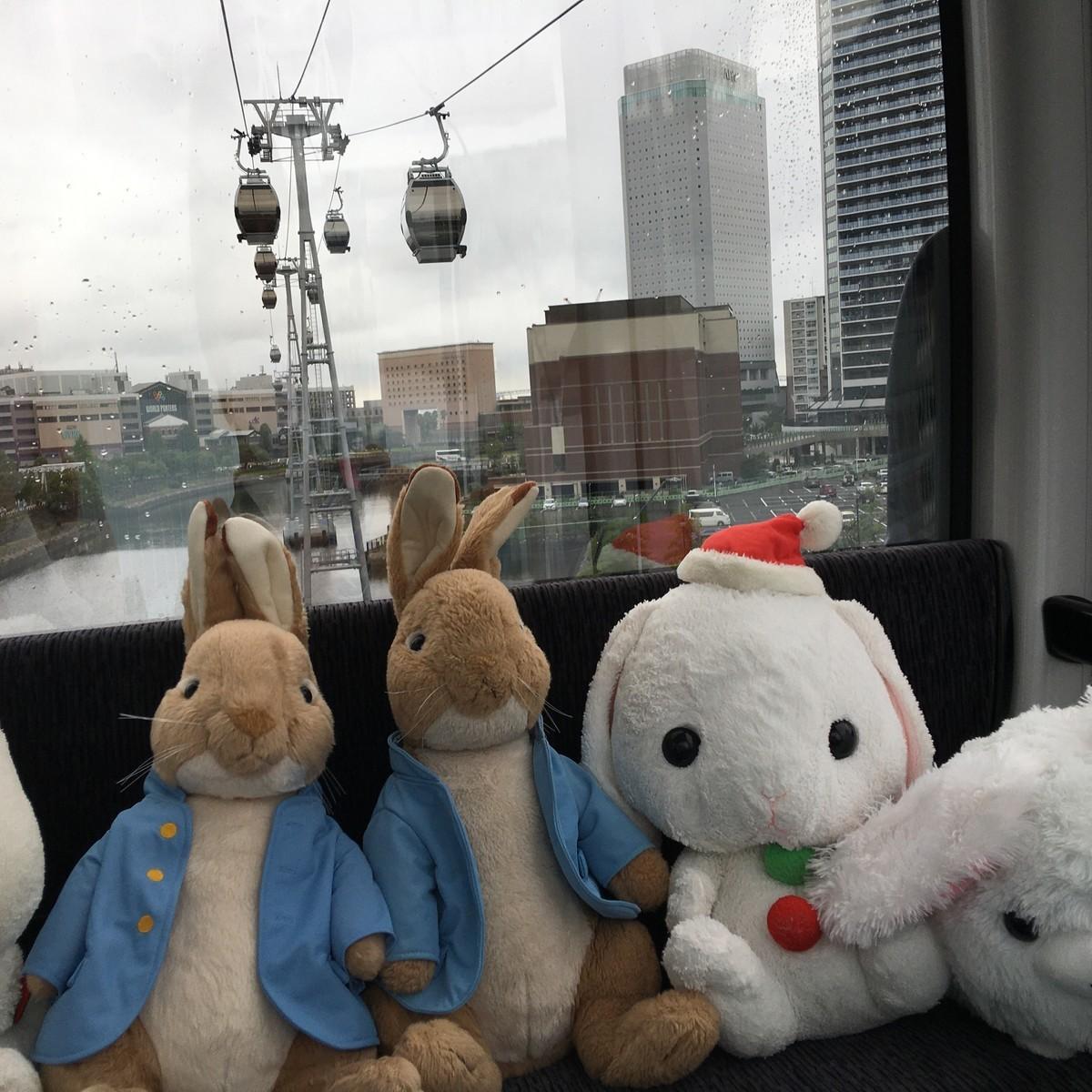 横浜キャビンに乗船