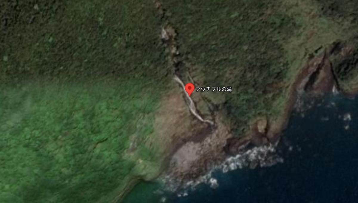 九州最大級の滝の名称「フウチブルの滝」「クルキチの滝」