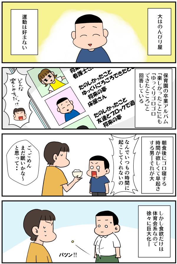 無料漫画「大の性格」01