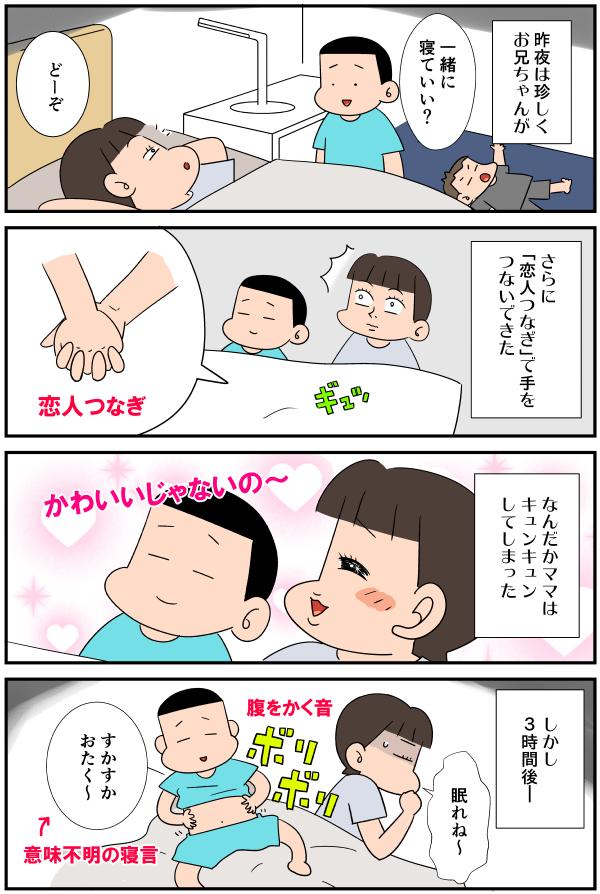 漫画「胸キュンの夜」