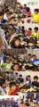 2012年8月17日「夏合宿 初日の夕食等」