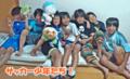2012年7月7日「大屋FCさんホームステイ(その2)」